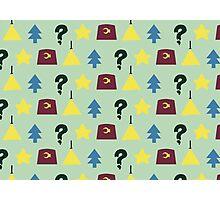 Pines Pattern Photographic Print