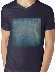 Denver Mens V-Neck T-Shirt