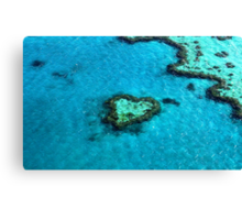 Heart Reef Canvas Print