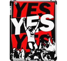 Yes Movement! - Black iPad Case/Skin