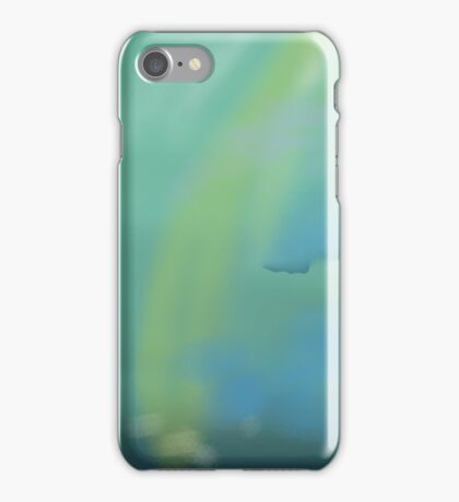 Abstract design done wit a watercolor motif iPhone Case/Skin
