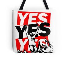 The Yes Movement [White] Tote Bag
