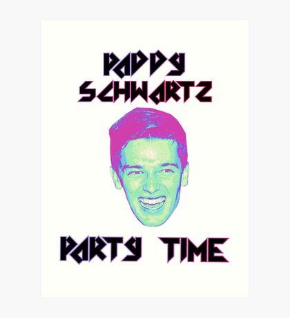 Paddy Schwartz, Party Timez? Art Print