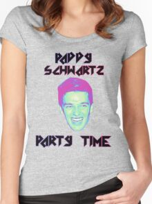 Paddy Schwartz, Party Timez? Women's Fitted Scoop T-Shirt