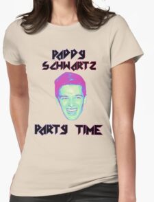 Paddy Schwartz, Party Timez? Womens Fitted T-Shirt