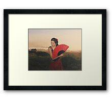 Sueños de Flamenco Framed Print