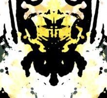 Rorschach Scorpion (MKX Version) Sticker