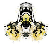 Rorschach Scorpion (MKX Version) by NormalSizedDeet