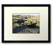 Horseshoe Canyon Framed Print