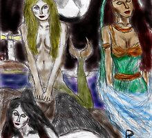 the mermaid, the djinneyeh, the succubus by richard tanzer