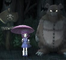 League of Legends - Annie and Tibbers, Totoro by ghoststorm