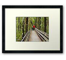 Walking the Preserve Framed Print