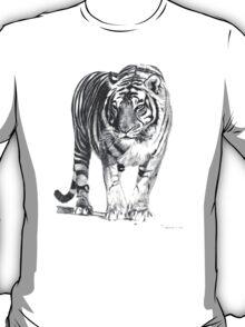 Bengal Tiger Illustration T-Shirt