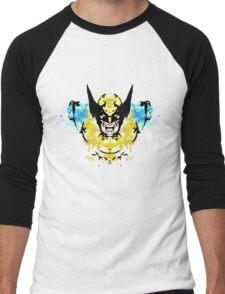 Rorschach Wolverine Men's Baseball ¾ T-Shirt