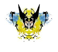 Rorschach Wolverine by NormalSizedDeet