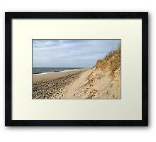Ocean Beach Framed Print