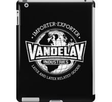 Vandelay Industries (white) iPad Case/Skin