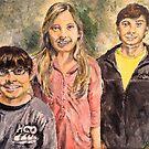 Happy Siblings by Jennifer Ingram