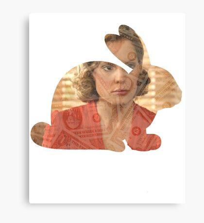Anya Loves Money And Fears Bunnies Canvas Print