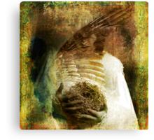 The Bird Madonna Canvas Print