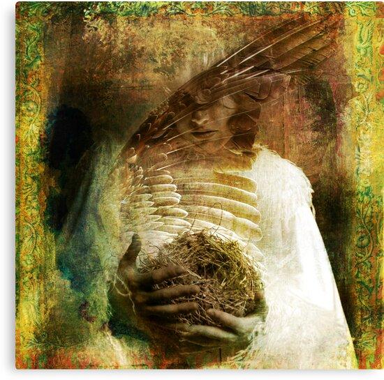 The Bird Madonna by Elena Ray