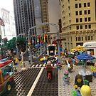 Lego New York Street Scene, Lego Store Fifth Avenue, New York City by lenspiro
