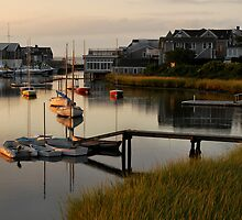 Wychmere Harbor Sunrise by Kamalyn