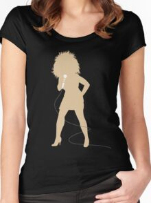 Love's Got to Do With It Women's Fitted Scoop T-Shirt