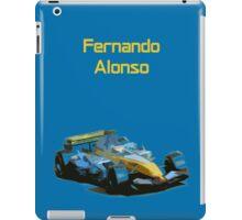 Fernando Alonso 2006 Renault R26 iPad Case/Skin