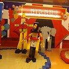 Lego Circus, Lego Store New York, Fifth Avenue, New York City by lenspiro
