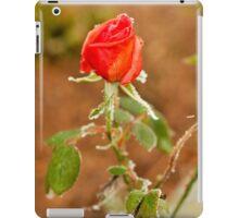 The Froze Rose iPad Case/Skin