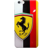 Sebastian Vettel Ferrari Shield and German flag iPhone Case/Skin