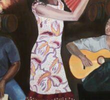 Sueños de Flamenco Sticker