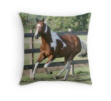 Sharp Shootin Peppy Throw Pillow