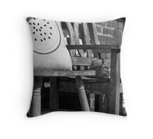 Alley Cats 3 Throw Pillow