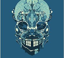 Coey: Doctor Who Skull by Shy Custis