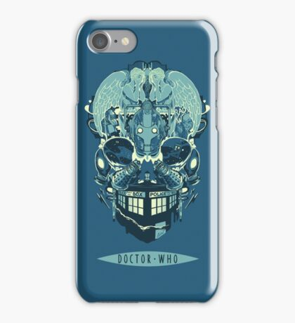 Coey: Doctor Who Skull iPhone Case/Skin
