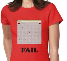 Minesweeper fail Womens Fitted T-Shirt