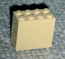 The Faded Lego Brick by genevaspecials