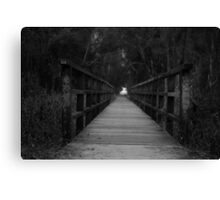 Dont judge my path if you haven't walked my journey. Canvas Print