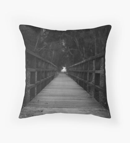 Dont judge my path if you haven't walked my journey. Throw Pillow
