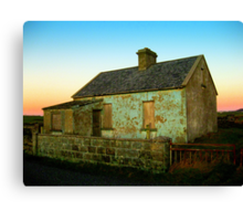 Abandoned Cottage Canvas Print