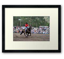 Picton Rodeo BR4 Framed Print