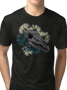 Horse Skull Tri-blend T-Shirt
