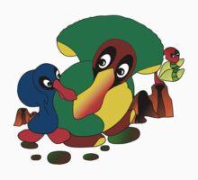 Ducklins Green Kids Tee