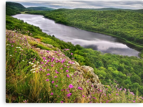Lake of the Clouds - Michigan by Kathy Weaver