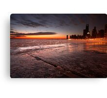 A Little Nippy Canvas Print