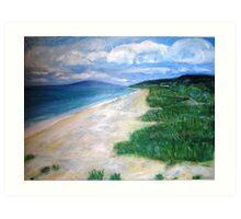 McCrae Beach Art Print
