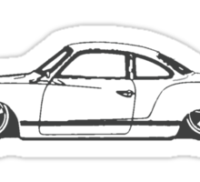 VW Karmann Ghia Sticker