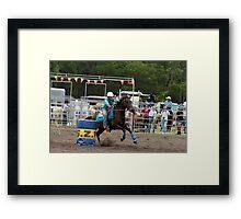 Picton Rodeo BR12 Framed Print